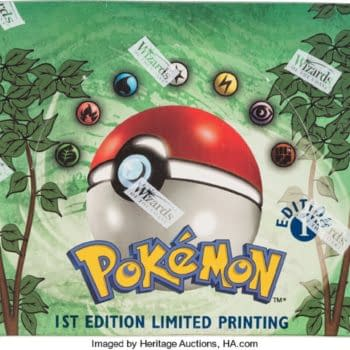 Pokémon TCG 1st Edition Jungle Booster Box Auctioned By Heritage