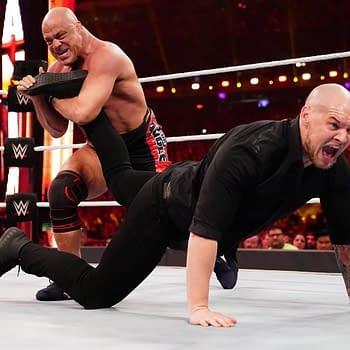Is AEW Teasing Kurt Angle As Their Big Hall of Famer Signing