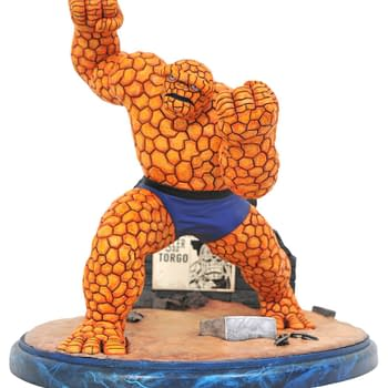 Its Clobberin Time With New Marvel Statues From Diamond Select