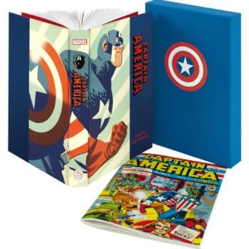 Folio Society Captain America 80th Anniversary Selected By Roy Thomas