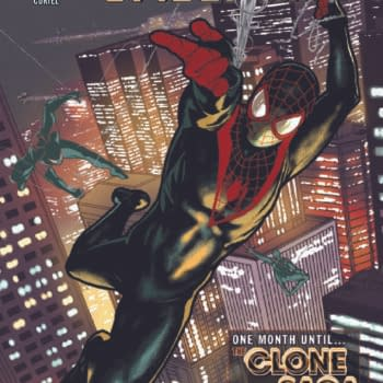 The Taurin Clarke main cover to Miles Morales: Spider-Man #24 by Saladin Ahmed and Carmen Nunez Carnero, in stores from Marvel Comics on Wednesday, March 24th, 2021