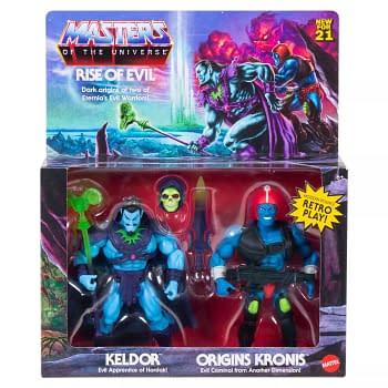 Masters of the Universe Mattel Keldor and Kronis 2-Pack Coming Soon