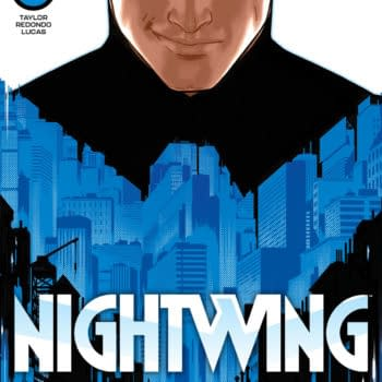 The cover to Nightwing #78 by Bruno Redondo, from DC Comics.