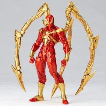 Spider-Man is Team Iron Man With New Revoltech Iron Spider Figure