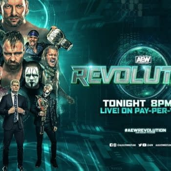 Official graphic for AEW Revoluion