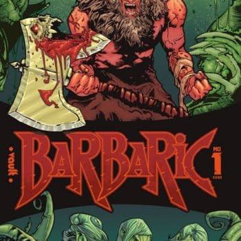 Barbaric #1 Launches in Vault Comics June 2021 Solicits