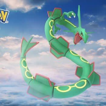 Rayquaza Returns to Pokémon GO with March 2021 Raid Weekend