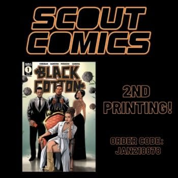 Alternate Reality Comic Black Cotton #1 Goes to Second Print