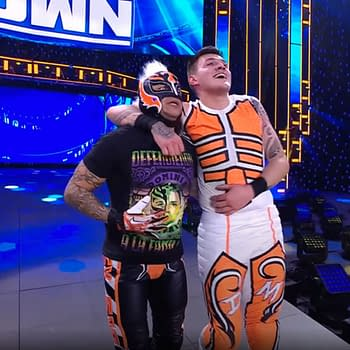 WWE Smackdown Ratings Up Mysterios Gloat After Victory Over
