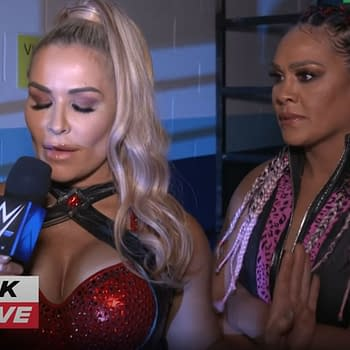 After Smackdown this week, Natalya and Tamina put the WWE women's tag team division on notice. Unfortunately, they themselves constitute at least 1/3 of the entire WWE women's tag team division.