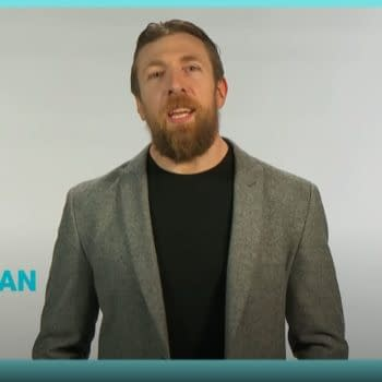 WWE Smackdown star Daniel Bryan appears in a PSA to promote coronavirus vaccination.