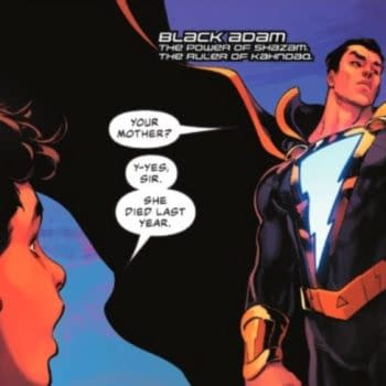 Shazadam appears in Justice League #59, but now he is called Black Adam. When will DC make up its mind?!