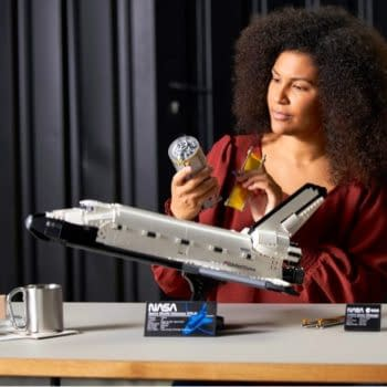 LEGO Blasts OFF With New NASA Space Shuttle Discovery Model Set