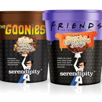 Friends and The Goonies Get Sweet With New Serendipity Ice Cream
