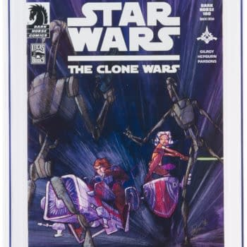 One Of The Rarest Star Wars Clone Wars Covers On Auction At Heritage