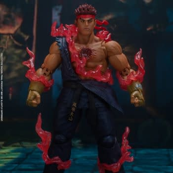 Street Fighter IV Evil Ryu Brings the Pain to Storm Collectibles
