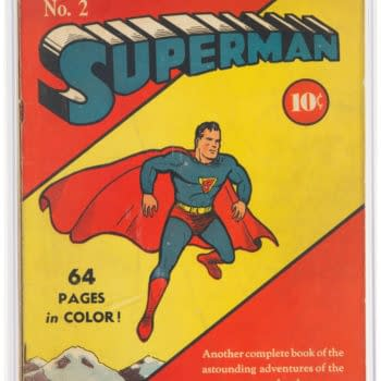 Superman #2 Is Up For Auction At Heritage Auctions Right Now