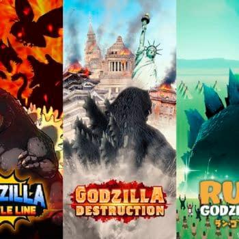 TOHO Games Will be Launching Three Godzilla Mobile Games