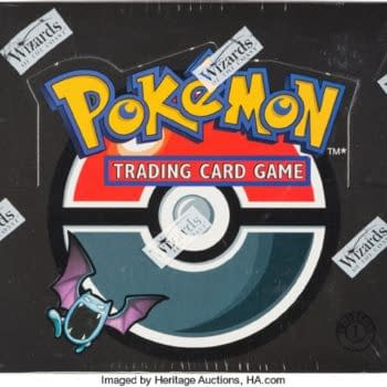 Pokémon TCG 1st Edition Team Rocket Box Up For Auction At Heritage