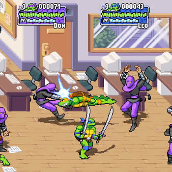 Dotemu Announces Teenage Mutant Ninja Turtles: Shredder's Revenge