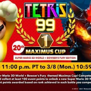 Super Mario 3D World Becomes The Next Tetris 99 Maximus Cup