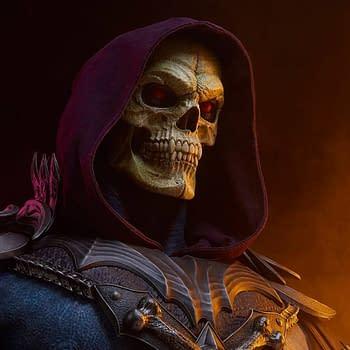 Skeletor Rises to Power as Tweeterhead Reveals Life-Size MOTU Bust