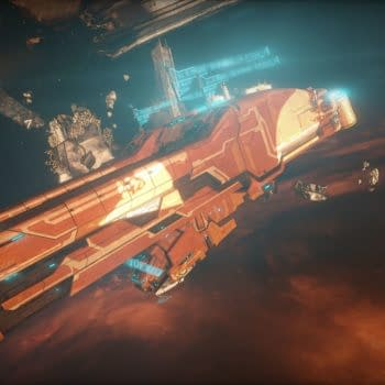 Warframe Shows Off The New Railjack That's On The Way