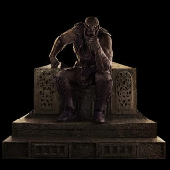 Darkseid Comes To Weta Workshop From Zack Snyder's Justice League