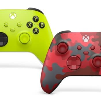 Xbox Reveals Electric Volt & Daystrike Camo Wireless Controllers