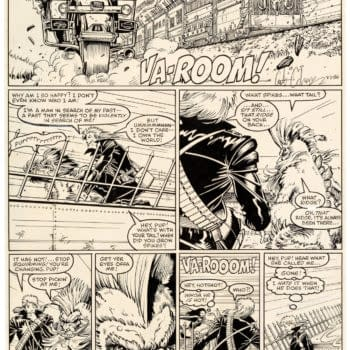 Two Pages Of Arthur Adams, Whilce Portacio's Longshot Up For Auction
