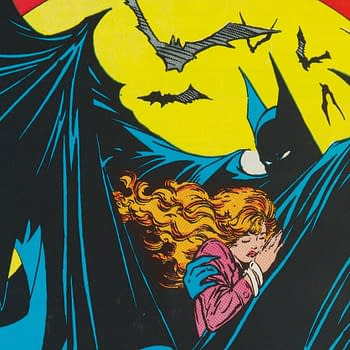 Batman #423 with Iconic Todd McFarlane Bat #Mood Cover Up for Auction