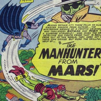 Batman #78 Martian Manhunter Title Splash, DC Comics, 1953.