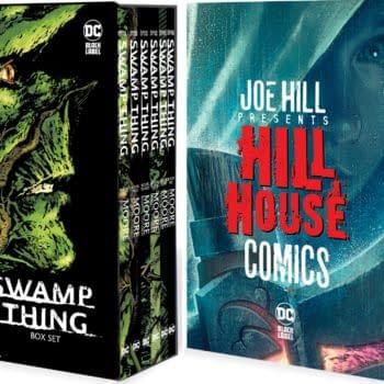 Alan Moore Swamp Thing & Joe Hill's Hill House Get DC Comics Boxsets