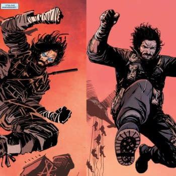 Comparing Alessandro Vitti To Ron Garney On Keanu Reeves' BRZRKR