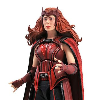 WandaVision Scarlet Witch Figure From Diamond Select Up For Order