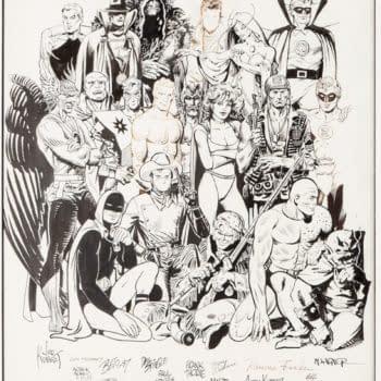 The History Of DC Original Artwork At Auction - Kirby, Kane, Kubert +