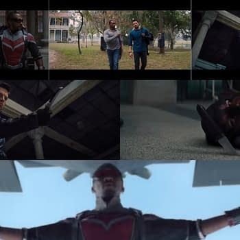 The Falcon and the Winter Soldier Try Defining Their Relationship