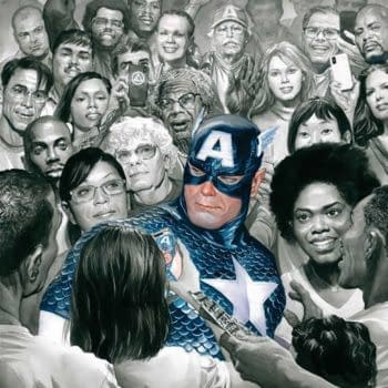 The cover to Captain America #30 by Alex Ross