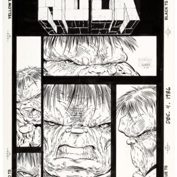 Todd McFarlane Unpublished Hulk Cover