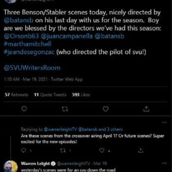 Law & Order: SVU/OC: Next Benson & Stabler Reunion Already Underway?