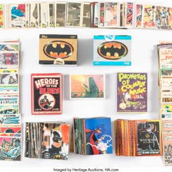 40 Years of Superhero Trading Cards Spotlighted at Heritage