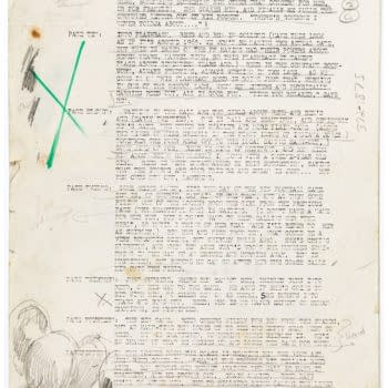 John Byrne's Plot Proposals For The Thing and Super-Boxers At Auction