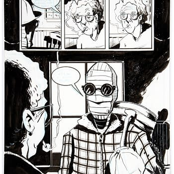 "Own a Piece of Jeff Lemire's ""The Nobody"" Graphic Novel"
