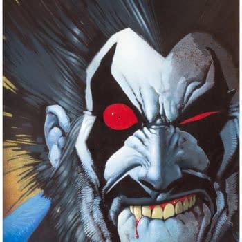 Simon Bisley's Original Lobo Cover Goes To Auction