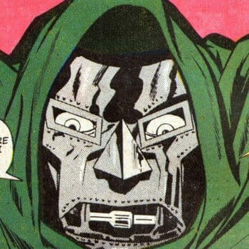 Marvel Super-Heroes #20 interior page featuring Doctor Doom, Marvel 1969.