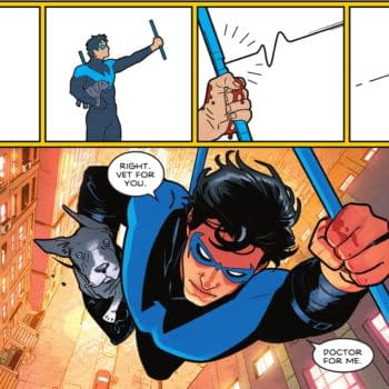 Seprated At Birth: Taylor/Redondo's Nightwing & Fraction/Aja's Hawkeye