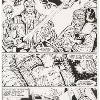 Rob Liefeld Pages New Mutants #100