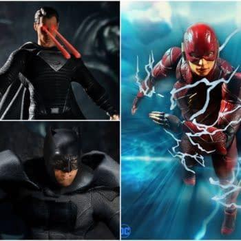 Zack Snyder's Justice League Receives Exclusive Mezco Toyz 3-Pack