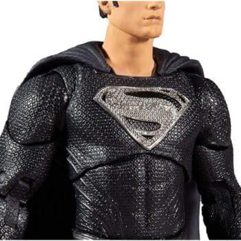 Black Suit Superman Gets Snyder Cut Figure from McFarlane Toys