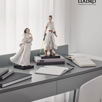 Star Wars Rey Prepares for Her Next Journey With Lladró